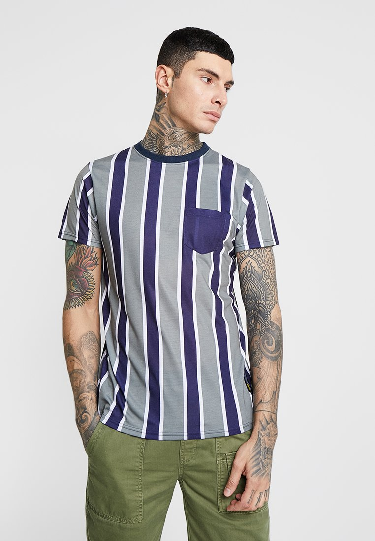Redefined Rebel - MIGUEL TEE - T-shirts print - loden green