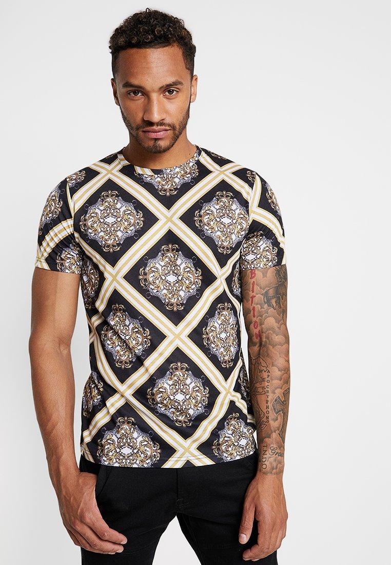 Redefined Rebel - DANIEL TEE - T-shirts med print - black