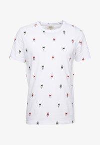 Redefined Rebel - SCOTT TEE - T-shirt print - white icecream - 3