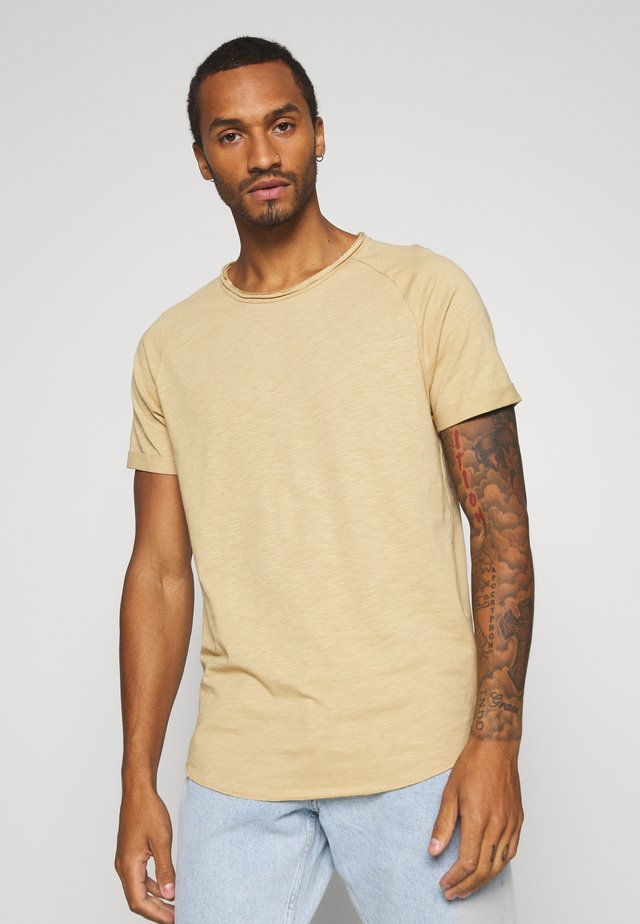 KAS TEE - T-shirt basique - travertine