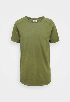 KAS TEE - Basic T-shirt - loden green