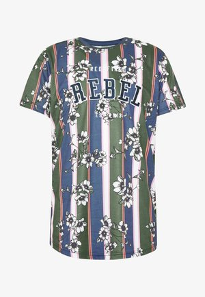 UNISEX ROMEO TEE - T-shirt z nadrukiem - blue depths