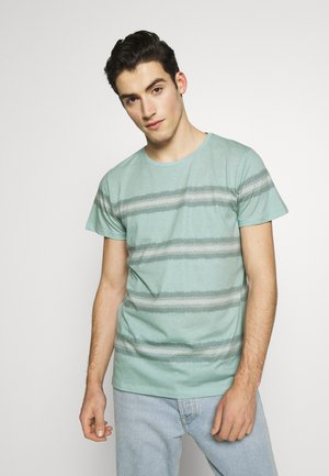 THOMAS TEE - T-shirt print - duck green