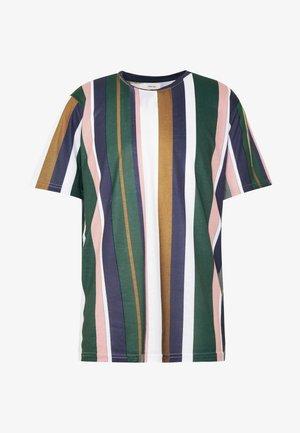 UNISEX LION TEE - T-shirt imprimé - duck green