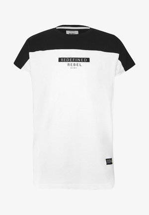 SAUL TEE - Camiseta estampada - white