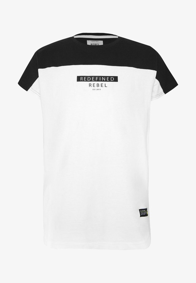 SAUL TEE - T-shirt med print - white