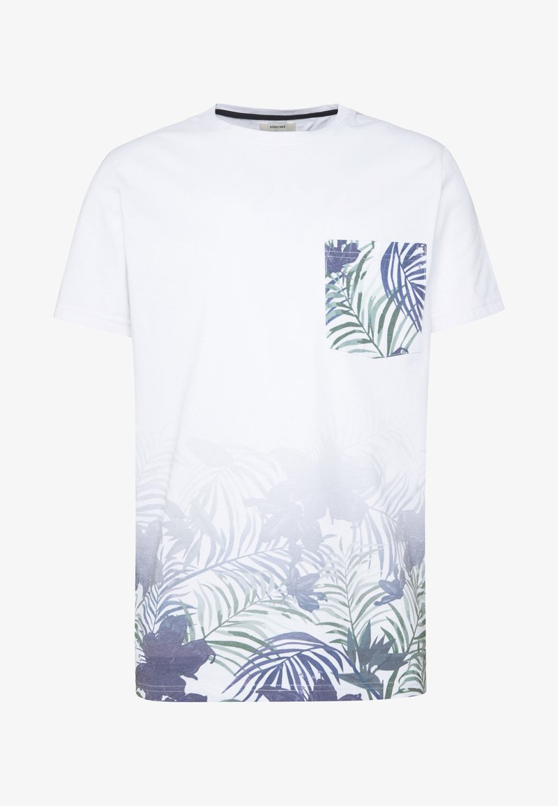 Redefined Rebel TEE - T-shirt con stampa - white XtUB8l fashion style