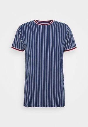 TEE - T-Shirt print - blue depths
