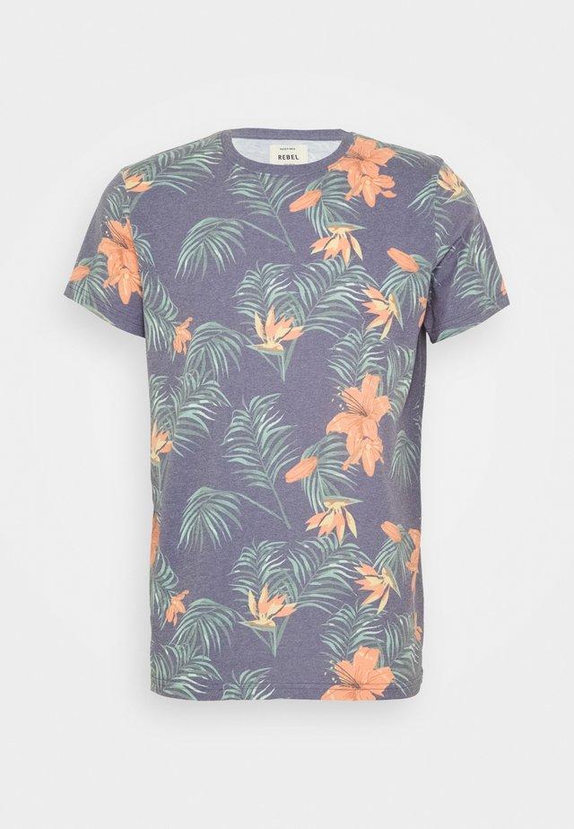 RAUL TEE - T-shirts print - blue