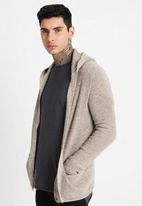 Redefined Rebel - CABE - Cardigan - stone - 0