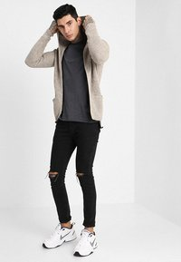 Redefined Rebel - CABE - Cardigan - stone - 1