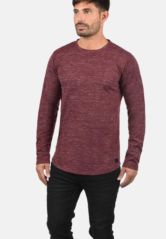 MARLONE - Sweatshirt - bordeaux