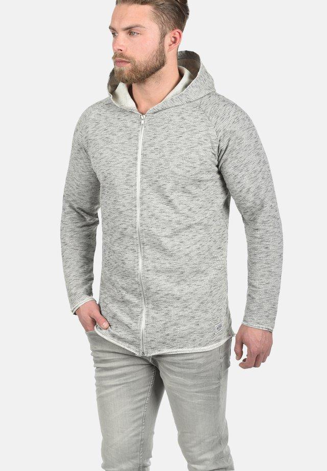 MALIK - Zip-up hoodie - off white