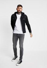 Redefined Rebel - FUNDA JACKET - Denim jacket - black - 1