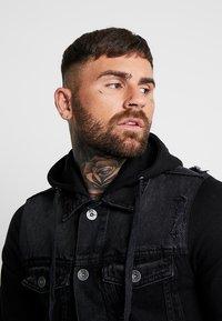 Redefined Rebel - FUNDA JACKET - Denim jacket - black - 4