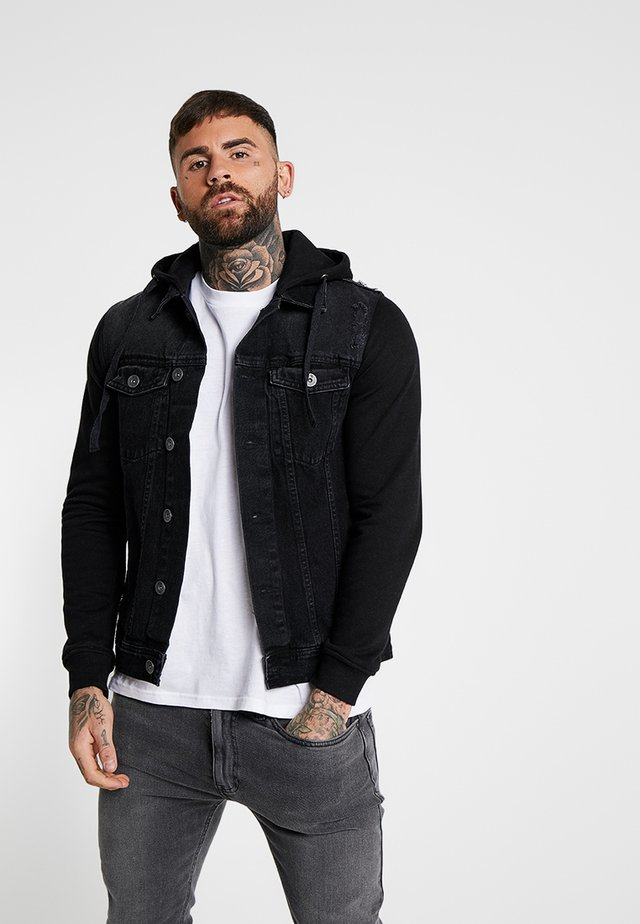 FUNDA JACKET - Denim jacket - black