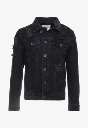 JASON JACKET - Denim jacket - lava stone