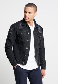 Redefined Rebel - JASON JACKET - Spijkerjas - lava stone - 0