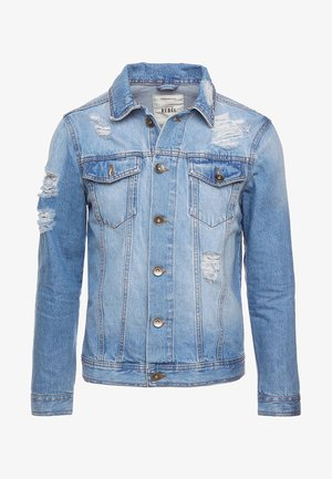 JASON JACKET - Farkkutakki - light blue