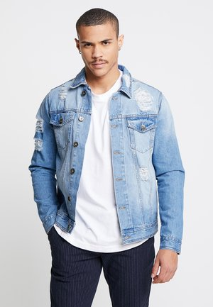 JASON JACKET - Kurtka jeansowa - light blue