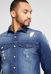 Redefined Rebel - JACKSON JACKET - Camicia - dark blue - 4