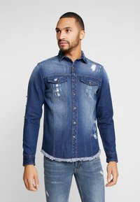 Redefined Rebel - JACKSON JACKET - Camicia - dark blue - 0