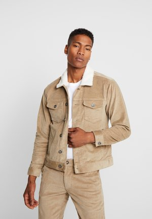 RRYORK JACKET - Summer jacket - dark sand