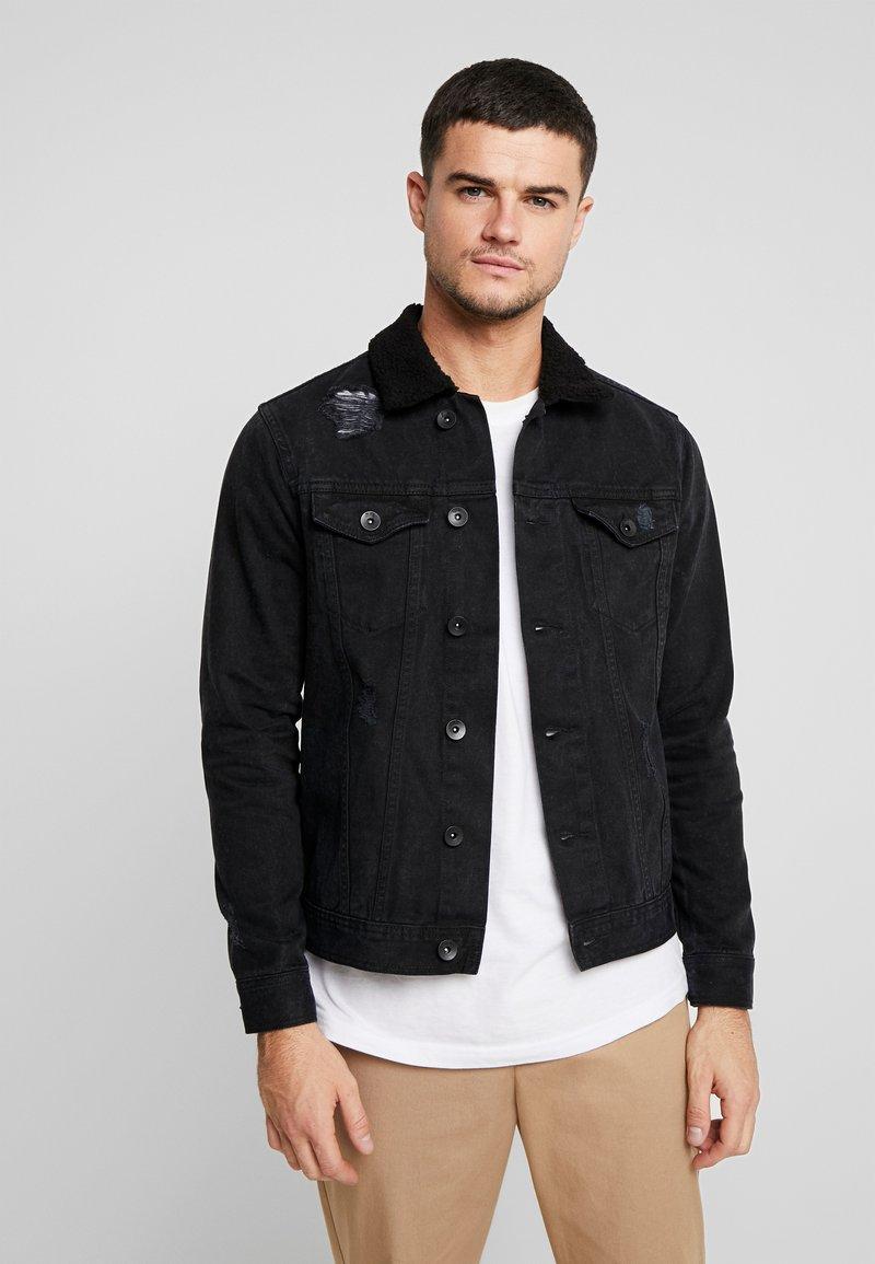 Redefined Rebel - CHRIS JACKET - Veste en jean - black