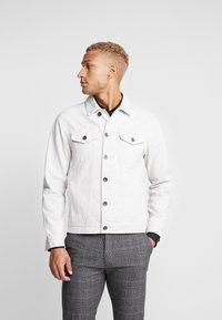 Redefined Rebel - RRASGER JACKET - Denim jacket - stone - 0