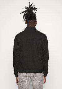 Redefined Rebel - RRASGER JACKET - Denim jacket - black - 2