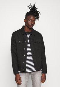 Redefined Rebel - RRASGER JACKET - Denim jacket - black - 0