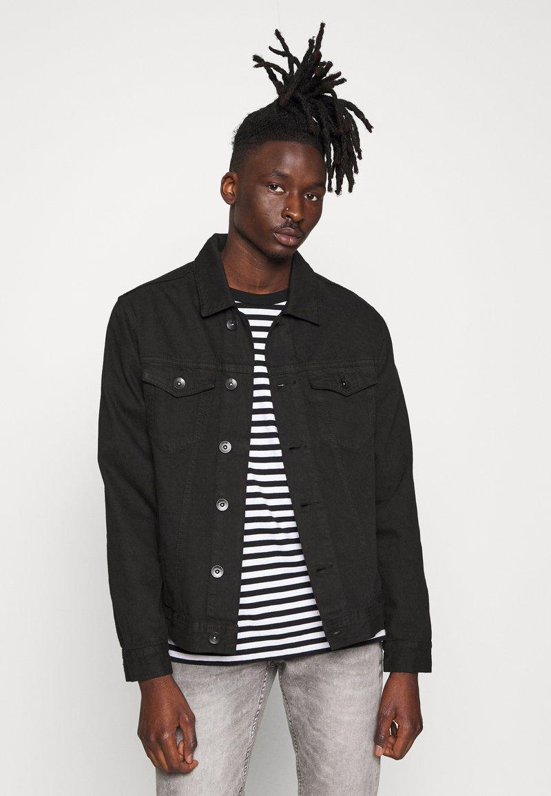 Redefined Rebel - RRASGER JACKET - Denim jacket - black