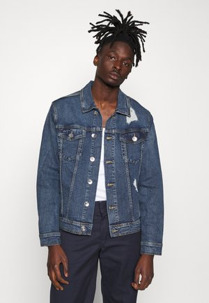 UNISEX RRPHIL JACKET - Denim jacket - penny blue
