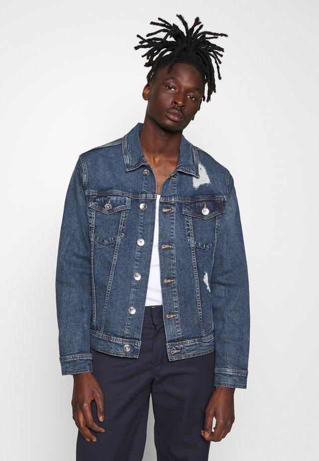 UNISEX RRPHIL JACKET - Kurtka jeansowa - penny blue