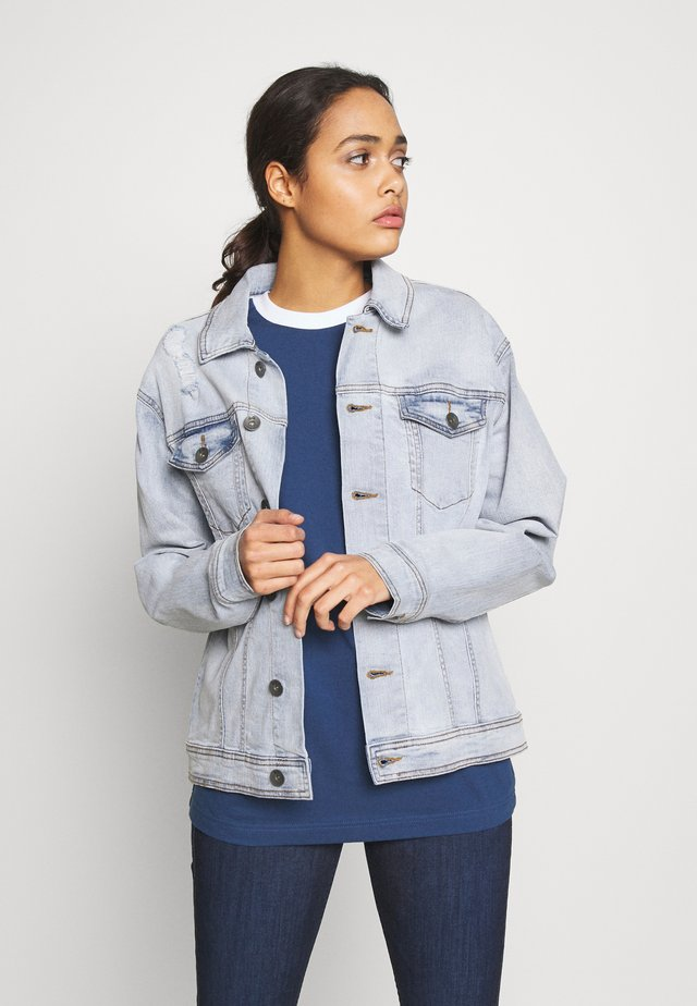 UNISEX RRPHIL JACKET - Denim jacket - ice indigo