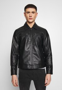 Redefined Rebel - STEFAN JACKET - Jacka i konstläder - black - 3