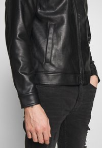 Redefined Rebel - STEFAN JACKET - Jacka i konstläder - black - 6