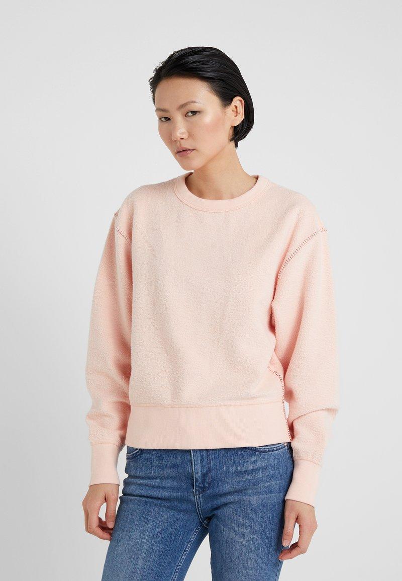 rag & bone - BRUSHED INSIDE OUT  - Sweatshirt - dusty pink