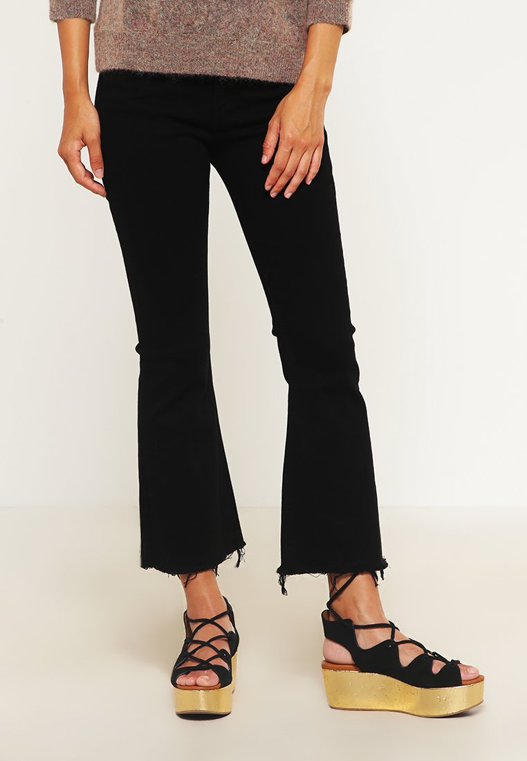 rag & bone - Jeans a zampa - black denim