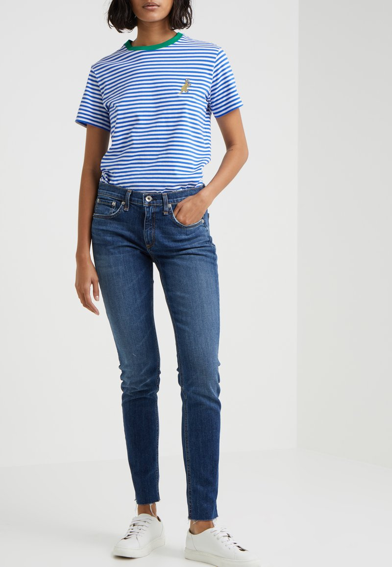 rag & bone - Jeans Relaxed Fit - blue denim