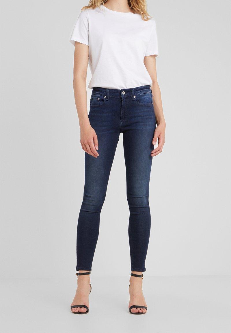 rag & bone - CATE MID RISE  - Jeans Skinny Fit - lenoir