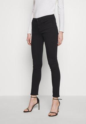 CATE MID RISE  - Skinny džíny - black denim