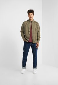 rag & bone - TOMLIN OXFORD - Koszula - olive night - 1