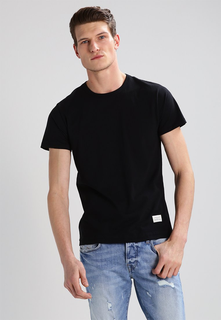 rag & bone - STANDARD ISSUE  - T-shirt basique - black