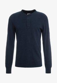 rag & bone - CLASSIC HENLEY - Bluzka z długim rękawem - deep navy - 3