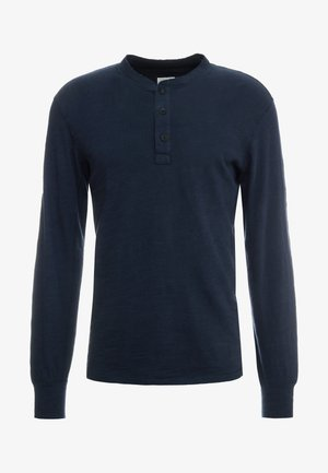 CLASSIC HENLEY - T-shirt à manches longues - deep navy