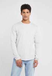 rag & bone - HUNTLEY TEE - veste en sweat zippée - heather grey - 0