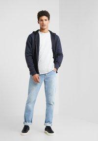 rag & bone - HUNTLEY TEE - veste en sweat zippée - heather grey - 1