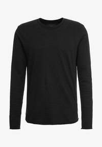 rag & bone - HUNTLEY TEE - Bluza rozpinana - black - 4