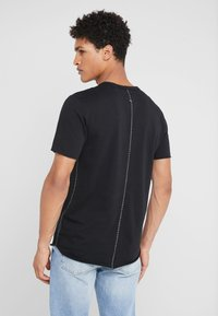 rag & bone - HUNTLEY TEE - T-shirt basic - black - 2